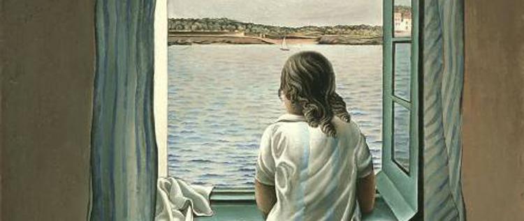 La petite voix int rieure les sens ciel inspiring and for Ragazza alla finestra quadro
