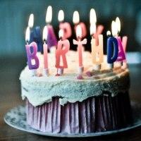 Aujourd'hui c'est mon anniversaire...